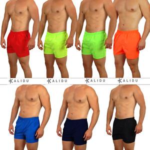 Costume da Bagno Uomo Pantaloncino Fluo Shorts Mare Bermuda Piscina