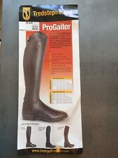 New with Tags! Tredstep ProGaiter Black Leather 14� calf, 18� height Half Chaps