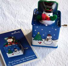 Hallmark Keepsake Christmas Ornament Pop Goes The Snowman Jack in Box No. 1