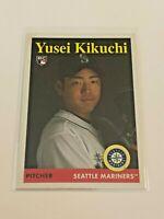 2019 Topps Archives Baseball Rookie Card - Yusei Kikuchi RC - Seattle Mariners