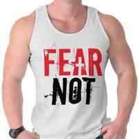 Fear Not Christian Religious Jesus Christ God Adult Tank Top T-Shirt Tees Tshirt