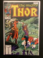 The Mighty Thor 347 High Grade Marvel Comic Book CL66-35