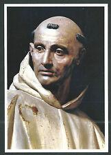 Postal de San Bruno andachtsbild santino holy card santini