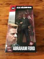 """TWC The Walking Dead Abraham Ford 7""""  Figure McFarlane Toys Color Top New in Box"""