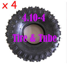 "4X4.10 - 4"" Tyre Tire+Tube 49cc 50cc Go-Kart Dirt Bike Quad Drifter Scooter"