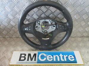 BMW 1 3 SERIES M SPORT STEERING WHEEL E8X E9X LEATHER MULTI FUNCTION