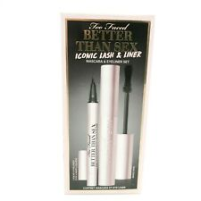 TOO FACED Better Than Sex Iconic Lashes & Liner Set - FULL SIZE NEW