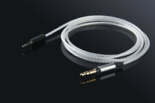 Silver Audio Cable For Sennheiser HD 4.30i HD 4.30g HD 4.40 HD 4.50 BT Headphone