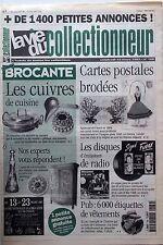 La Vie du Collectionneur n°169-  Pub Etiquettes Vêtements Cuivres de cuisine CP