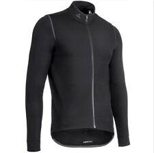 Warme Adidas Radjacke Fleece Herren Thermo Fahrrad Jacke Winter Trikot schwarz