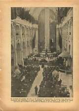Paris Jean Mermoz Cathédrale Saint-Louis-des-Invalides 1937 France ILLUSTRATION