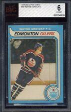 1979-80 O-PEE-CHEE OPC WAYNE GRETZKY #18 Oilers - HOF ROOKIE - BVG / BGS 6