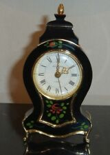 "VINTAGE SMALL BUCHERER CLOCK MADE IN GERMANY 4 3/8"" HIGH"