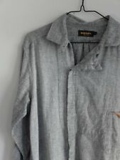 DIESEL 'Black Gold' shirt in Grey, size Large, worn once