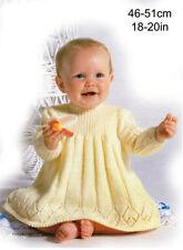 Baby 4 Ply Crocheting & Knitting Patterns Dress