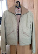 Ladies casual padded Tipster jacket (stone colour/size 12)