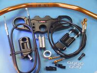 ABM Superbike Lenker Umbau - Kit für Kawasaki ZX12R - ab Bj. '04 -  ZX 12 - R