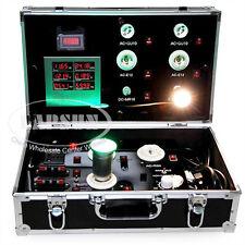 Hand Aluminum Case Trolley LED Light Power Demo Test Display Show Meter Tester