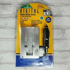 Digital Camera Battery Charger for Canon NB-1L Nikon ENEL1 Fuji NP-80 NP-100 New
