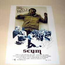 "SCUM PP SIGNED POSTER 12""X8"" RAY WINSTONE"