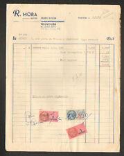 """TOULOUSE (31) USINE de CHAUSSURES """"Bottier R. MORA"""" en 1950"""