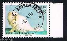 ITALIA 1 FRANCOBOLLO ANIMALI GATTO PERSIANO BIANCO 1993 timbrato