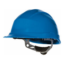 Blue Ratchet Hard Hat - Quartz Iii - Delta Plus