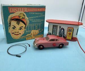 # Distler Elektromatic  Tankstelle 50er  (64760) Blechspielzeug Ovp