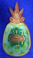 Vintage 1969Hawaiian Treasure Craft Hawaii Pineapple Tiki BarDish Bowl