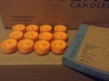Partylite Juicy Clementine Tealights Orange Candles New Box