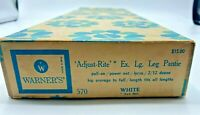 Vintage MCM Warner's Adjust Rite Lg Leg Pantie Empty Box