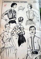 *LOVELY VTG 1950s JACKETS ADVANCE Sewing Pattern 14/32