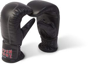 Kibo Fight Gerätehandschuhe, Boxsack Handschuhe Paffen Sport Leder. S/M - XL/XXL
