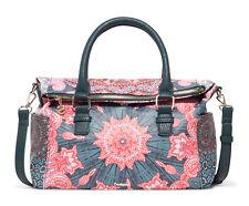 DESIGUAL Bols Afro Loverty Fuchsia Rose, Damentasche Handtasche Henkeltasche