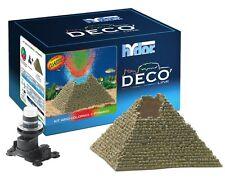 Hydor Deco Classic Collection Ancient Ruins Aquarium Ornament Kit, Pyramid