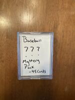 45 Modern Baseball Card Value Pack - 1 AUTO or RELIC, 15 ROOKIES & 10 INSERTS -