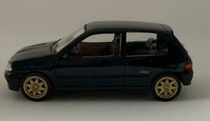 Renault Clio Williams 1993 in metallic blue 1:43 scale model from Norev