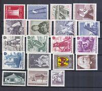 Österreich postfrisch Jahrgang 1961  siehe Bild