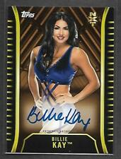 "2018 Topps WWE NXT AUTOGRAPH Billie Kay ""IIconics"" Pack Fresh AUTO 35/99"