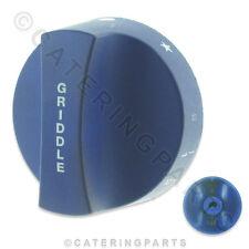 KN33 IMPERIAL 112318 BLUE GAS GRIDDLE VALVE CONTROL KNOB 64mm 9x6mm D SHAFT 9mm