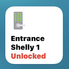 HomeKit compatible Shelly1 Lock