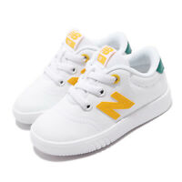 New Balance IV10TWA W Wide White Yellow Green TD Toddler Infant Shoes IV10TWAW