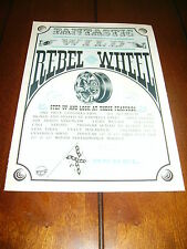 1965 REBEL WHEEL - MAG   ***ORIGINAL VINTAGE AD***