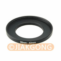 30mm-42mm 30-42 mm 30 to 42 Step Up Ring Filter Adapter