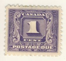 Canada Stamp Scott # J6 1-Cent Postage Due MH