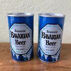 *LOT* STEEL VINTAGE Pull Tab Beer Cans, Duquesne Bavarian Beer, Blue