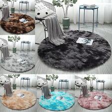 Flauschige Shaggy Teppich Rund verschiedene Farben und Größen Langflor Teppiche