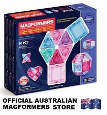 Genuine MAGFORMERS Window 30 Inspire Set - 3D Magnetic construction