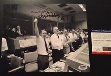 Gene Kranz Signed 8x10 Photo NASA Apollo W/Inscription PSA AB58825