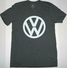 Vw Volkswagen Logo Graphic Gray T-shirt New